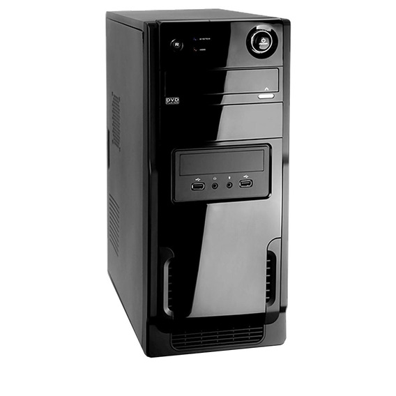 Pc Desktop Nova 2gb Ddr2 Hd320 Intel Celeron + Super Bride