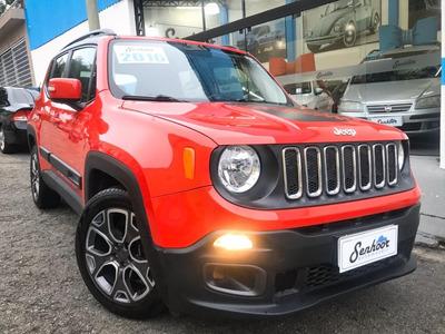 Jeep Renegade 1.8 Automática Longitude Vermelha - 2016