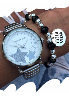 Reloj Knock Out 2492 Extensible Estrella Novedad! Casatagger