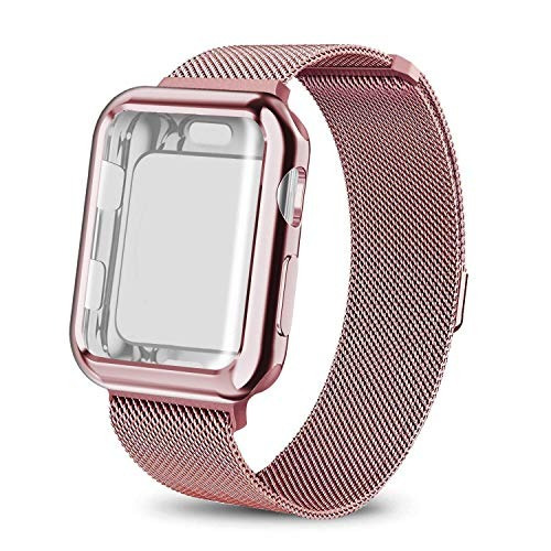 Monoy Para Apple Watch Series 4 1732 in Banda Con Protecto