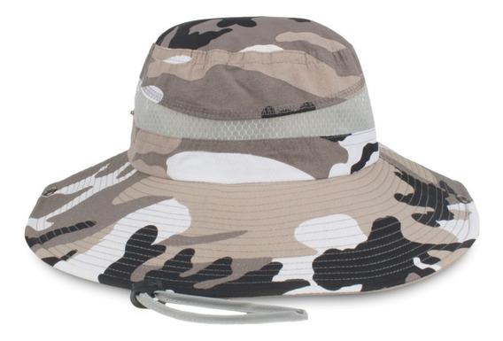 Sombrero Pesca Cubo Al Aire Libre Yf016 Con Correa Ajustable