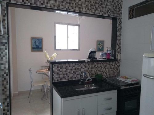 Imagem 1 de 11 de Apartamento Com 1 Dorm, Centro, São Vicente - R$ 185 Mil, Cod: 402 - V402