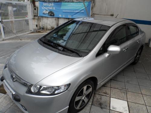 Imagem 1 de 12 de Honda Civic Lxs 2008, Excelente Estado, Completo.