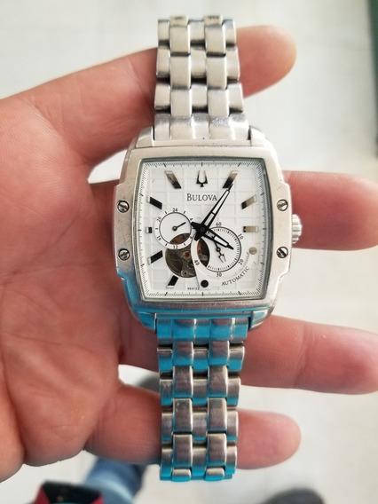 Reloj Bulova Automatico 96a122 (usado)