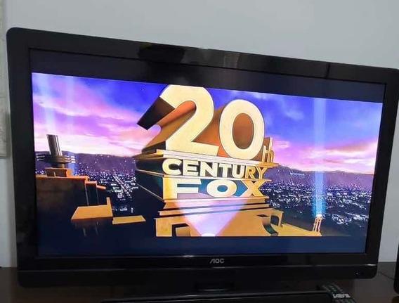 Tv Led Aoc Hd 32 Polegadas Muito Conservada