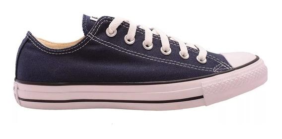 Zapatillas Converse Ox Lona Azul 156991c