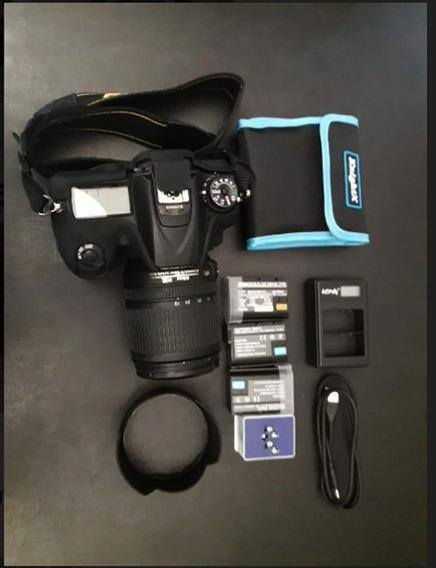 Câmera Nikon D7200 + Lente 18- 105 Vr Kit