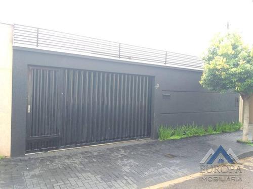 Imagem 1 de 15 de Casa Com 3 Dormitórios À Venda, 139 M² Por R$ 350.000,00 - Conjunto Habitacional Santiago Ii - Londrina/pr - Ca1431