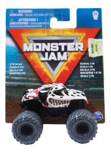 Imagen 1 de 3 de Monster Jam - Mini Vehiculo A Escala 1:70 Art.58712 Original