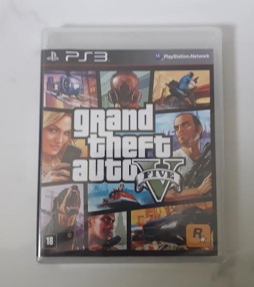 Gta 5 Ps3 Mídia Física Novo Português Grand Theft Auto V Cd