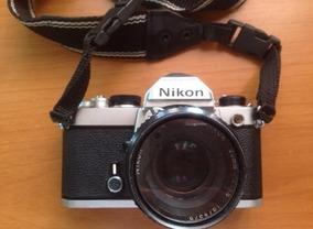 Câmera Analógica Nikon Fe