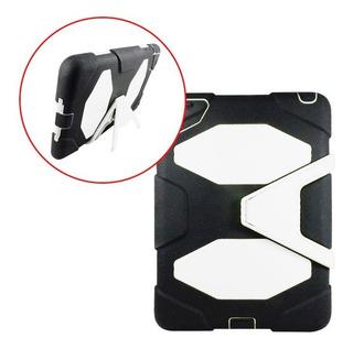 Funda Estilo Survivor iPad Mini Uso Rudo Base Negro Blanco