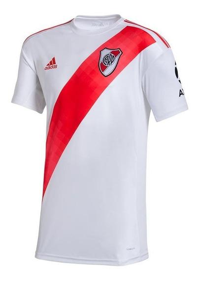 Camiseta River Plate Titular 2019/2020 Lisa Oficial Axion