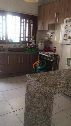 Imagem 1 de 15 de Sobrado Com 3 Dormitórios À Venda, 127 M² Por R$ 530.000,00 - Jardim Santa Mena - Guarulhos/sp - So0251