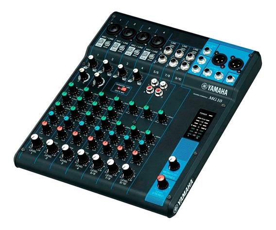 Mesa De Som 10 Ch 1 Auxiliar - Mg 10 Yamaha