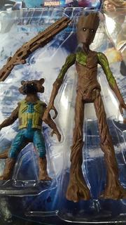 Groot + Rocket + Arma! Avengers Infinity War