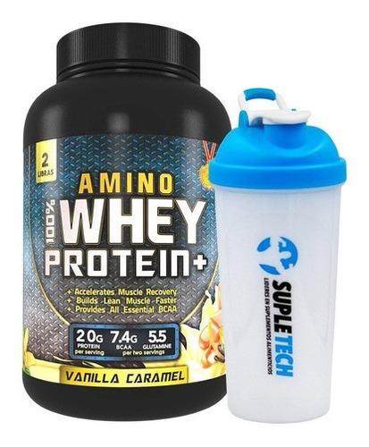 Imagen 1 de 2 de Amino Whey Protein 2 Lb + Shaker De Regalo