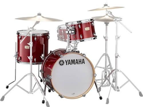 Bateria Acústica Yamaha Sbp8f3 Stage Custom Bop Kit C Red