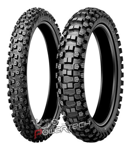 Imagen 1 de 6 de Cubierta Motocross Dunlop Mx52 90 / 90-  21 Y 100 / 100 - 18