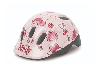 Capacete Infantil Menina Birdy Bicicleta Feminino Regulagem
