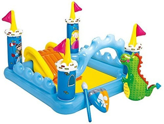 Intex Fantasy Castle Inflatable Play Center, 73 X 60 X 42
