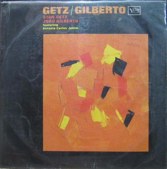 Stan Getz João Gilberto Lp 1985 Getz/gilberto Tom Jobim W