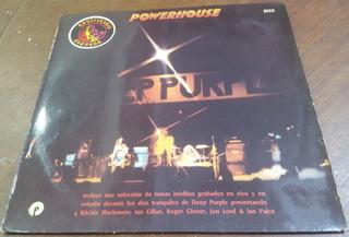 Deep Purple - Powerhouse Lp Arg Rainbow Whitesnake Zeppelin