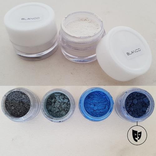 Sombra En Polvo Perla Pura Titi Env 2gr Pigmento Azul