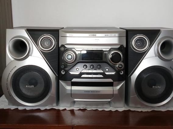 Aparelho De Som Minisystem Philips Fwm352 Mp3 Mini Hi-fi