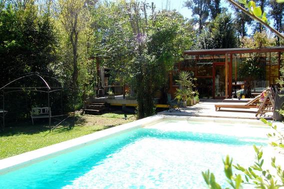 Casa Para Vivir La Naturaleza Con Parque Y Pileta