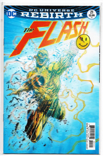 Flash Vol 5 #21 Portada Lenticular (the Button Part 2)