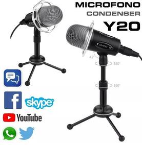 Microfono Profesional De Estudio Capacitivo Para Pc Celular
