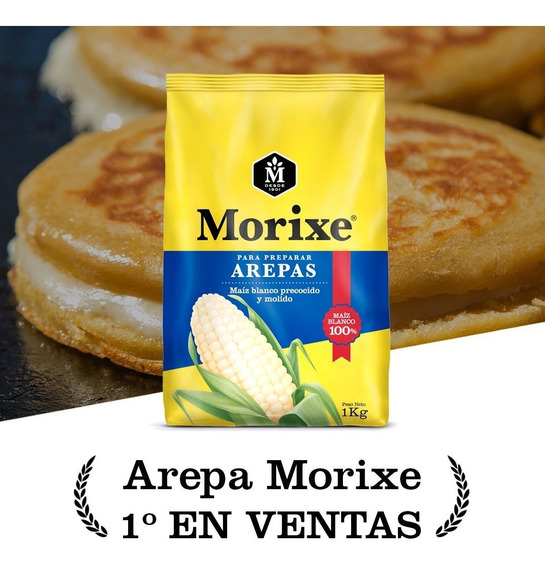Comosano Harina Morixe Trigo Arepa Kilo Oferta Tequeños Pan