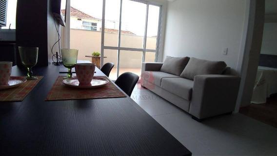 Apartamento Com 1 Suíte À Venda No Bairro Menino Deus - Porto Alegre/rs - Ap1923