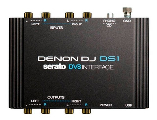 Denon Ds1 - Interface Audio Digital Para Serato Dj Profes