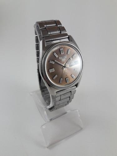Relógio Vintage Seiko Automático 6119 Em Aço Revisado