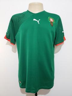 Camisa Oficial Futebol Seleção Marrocos 2010 Home Puma G