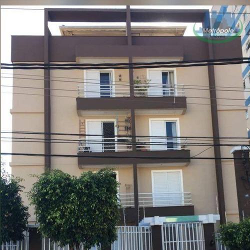 Apartamento Com 2 Dormitórios À Venda, 60 M² Por R$ 250.000 - Jardim Santa Mena - Guarulhos/sp - Ap1130