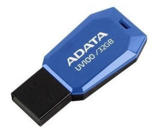 Memoria USB ADATA UV100 16GB azul