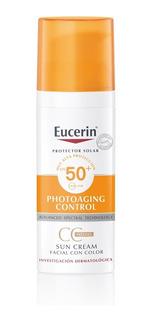 Protector Solar Eucerin Sun Cc Cream Fps50+ Con Color X 50ml
