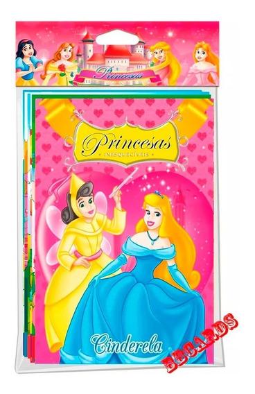 Coleção Princesas Barbie Fábulas Clássicos 40 Livrinhos