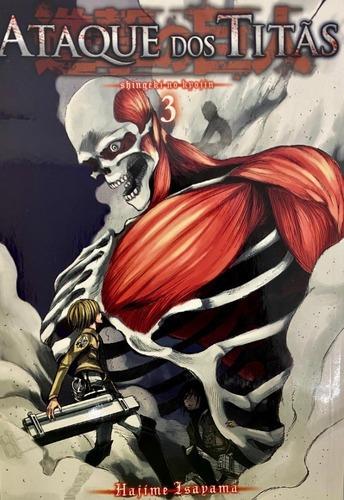 Mangá Ataque Dos Titãs: Shingeki No Kyojin - Vol. 3