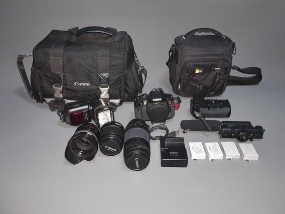 Câmera Canon T4i + Assessórios