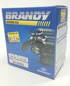 Bateria Gel Twister Falcon Cb 300 Fazer 250 Riva150 Brandy