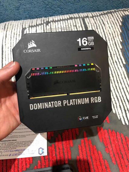 Corsair Dominator Platinum Rgb 2x8 Ddr4 3200mhz