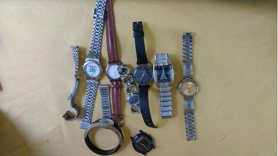 Lote Com 8 Relógios No Estado