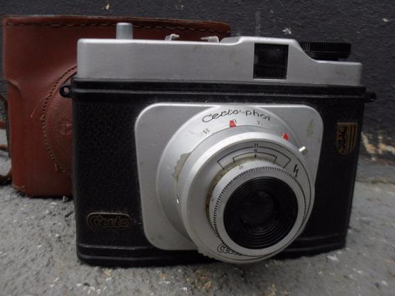 Maquina Fotografica Antiga Certo-photo Original