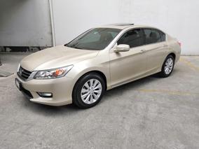Honda Accord Ex-l V6 Piel Abs Qc Nav Cvt 2013 $210,000.00