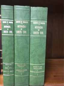 Instituições De Direito Civil - Roberto De Ruggiero - 3 Vols