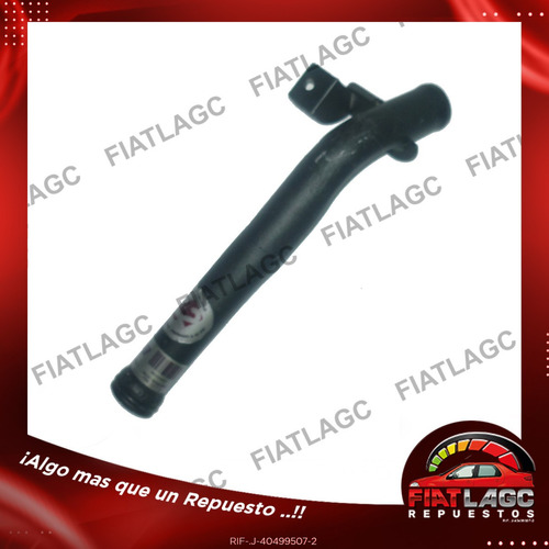 Tubo De Agua Fiat 1.3 16v/1.4 8v/uno Fire R0085